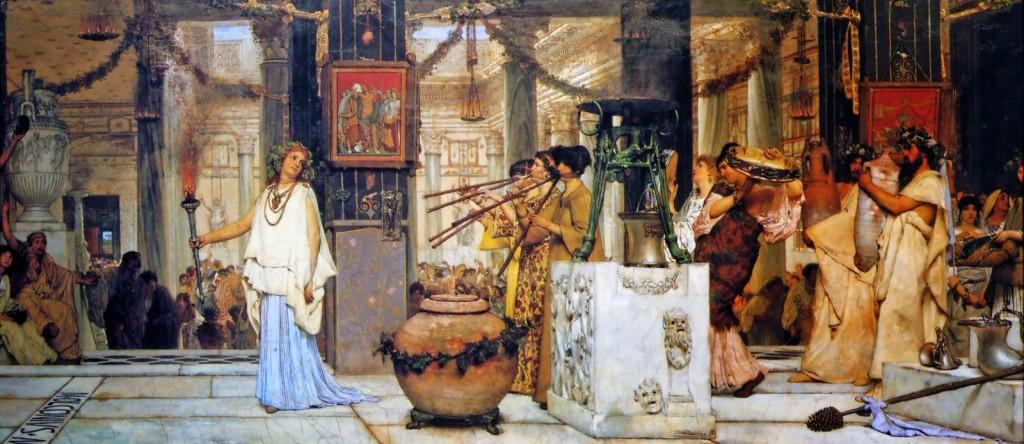 Sir Lawrence Alma-Tadema - The Vintage Festival