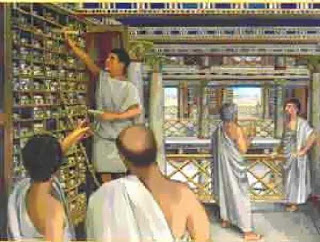 Οι Βιβλιοθήκες της αρχαίας Ελλάδας