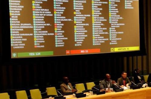 Απούσα η Ελλάδα από την ψηφοφορία στον ΟΗΕ υπέρ της προστασίας των χρεοκοπημένων κρατών