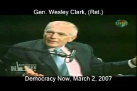 General Wesley Clark: US PLAN TO DESTROY 7 MUSLIM COUNTRIES  (2 March 2007) – ΤΙ ΔΕΝ ΚΑΤΑΛΑΒΑΙΝΕΙΣ;….